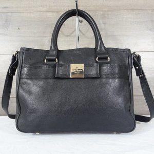 Kate Spade Black Leather Shoulder Bag Satchel